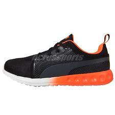 Puma Carson 3D Wns Runner Womens Black Orange Womens Running Shoes 188933-01