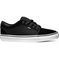 Vans Skate Chukka Low Mens Footwear Shoe - Suede Black White All Sizes