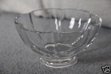 Baccarat Crystal France Footed Melon Bowl