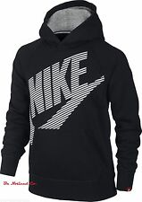 NWT Nike Boys' HBR SB Pullover Hoodie XS S M Black Youth Sweater Warm Casual