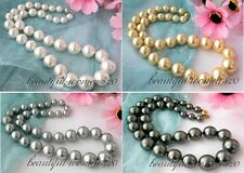 """X0169 17""""  16mm south sea shell pearl tower necklace"""