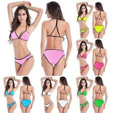 Elegant Sexy Girl Women Chest Push-up Pad Bra Separates Swimsuit Fashion Bikini