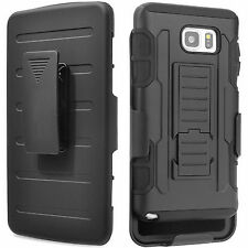 for Samsung Galaxy S7 S6 Note 5 Belt Clip Holster Belt Case Pouch Back Case