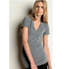 AMERICAN APPAREL TRi-BLEND SHORT SLEEVE V-NECK UNiSEX STRETCHY LOOSE TR461