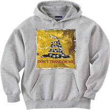 Don't tread on me flag hooded sweatshirt hoodie Men's size sweat shirt