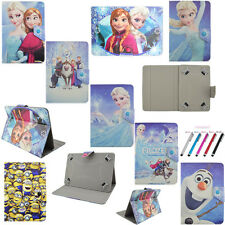 Kids Folio Stand Cover Buckle PU Leather Case For Universal 10'' inch Tablet PC