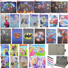 Kids Folio Flip Stand Cover PU Leather Buckle Case For Samsung Galaxy 7'' Tablet