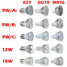 GU10 MR16 E27 E14 LED Bulbs 4W Spot Light High Power Bulb Lamp Day Warm White UK