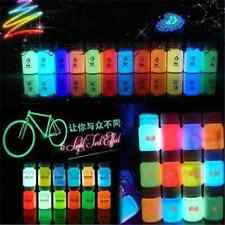 DIY Fun Glow in the Dark Acrylic Luminous Paint Bright Pigment Painting Party FT