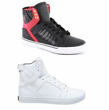 Supra Skytop Hi Leather Mens Hi Tops Lace Up Trainers