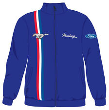 FORD MUSTANG STRIPE Windbreaker Jacket - by David Carey Originals - BRAND NEW!