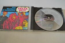 Freak Out! by Frank Zappa/The Mothers of Invention (CD, 1985 Non Barcoded 644
