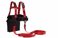 Lucky Bums Kid's Unique Ski Trainer - Red One Size