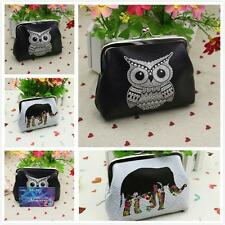 Womens Clutch Hasp Key Zero Change Wallet Purse Coin Bag Mini Handbag