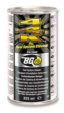 bg fuel injector cleaner instructions