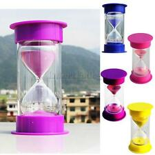 1,5,10,15,20,30 Minutes Hourglass Sand Glass Sand Timer Fashion Home Decoration