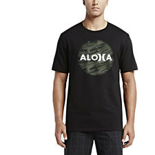 Hurley John Aloha Krush Mens T-shirt - Black All Sizes