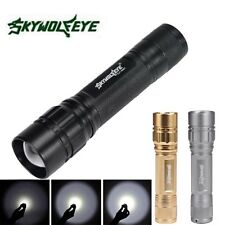 New Zoomable 3000LM 3 Modes CREE XML T6 LED Focus 18650 Lamp Flashlight Torch
