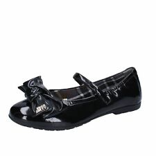 AJ940 MISS SIXTY  shoes black patent leather girl ballet flats EU 38,EU 39