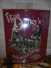 Walt Disney's Railroad Story SIGNED Small Scale Train AUTOGRAPHED  Broggie BOOK