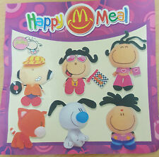 McDonalds Happy Meal Toy 2002 BUBBLEGUM Plush Character - VARIOUS