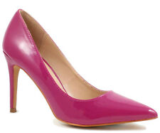 Shoe Republic Pearl Violet Patent Leather Pointy toe Pump Heels Women's shoes