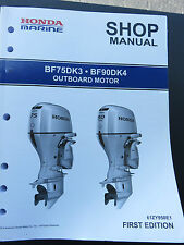 2014 HONDA MARINE OUTBOARD SERVICE SHOP MANUAL - 61ZY950E1 - BF75DK3 / BF90DK4