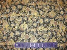 BALI FLOWER GARDEN Kathy Hall SPECKS on COTTON FABRIC By The YARD or FAT QUARTER
