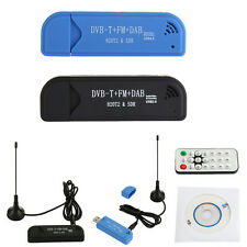 USB2.0 Digital DVB-T SDR + DAB +FM HDTV TV Tuner Receiver Stick RTL2832U + R820T