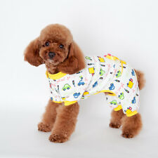 Pet Puppy Dog Cute Cartoo Jumpsuit Pajamas Cat Dog Coat Clothes Apparel Costume