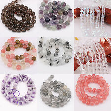 Charm 1Bunch Crystal Round Multi Style Spacer Bead Bracelet Craft DIY 4-12mm