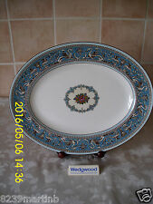Wedgwood Florentine Turquoise Pattern W2714 Meat Platter