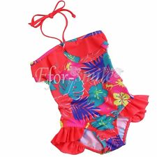 Girls Swimwear Princess One Piece Bikini Swimming Costume Swimsuit Bathing Suit
