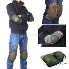 Hot Tactical Military Elbow Knee Protective Pads Paintball Skate Airsoft Combat