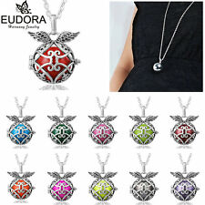 Iris Flower Mexican Bola Bell Harmony Ball Angel Caller Belly Pendant Necklace