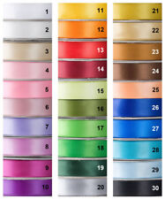 Satin Ribbon, DOUBLE SIDED, 30 Yard-Role, 9mm wide