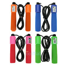 2.6M 8.5ft Handle Skipping Jump Rope with Counter Number for Exercise Workout