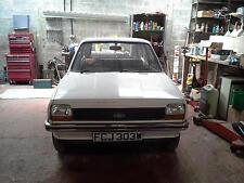 Ford Fiesta mk 1 ** GENUINE 25,863 MILES FROM NEW **