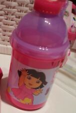 NEW DISNEY CARS PLASTIC DRINK BOTTLE CANTEEN, DORA DRINK CANTEEN PLASTIC DRINK