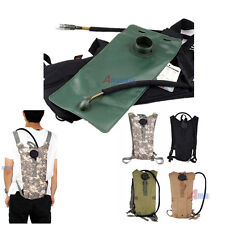 Outdoor 2.5L Hydration Packs Military Molle Water Bag Climbing Drink Backpack