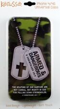 Kerusso Christian iPhone 4/4S Phone Case Cover Bible Verse Faith Christ God NEW