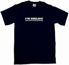 I'm Smiling That Alone Should Scare You Kids Tee Shirt Boys Girls Unisex 2T-XL