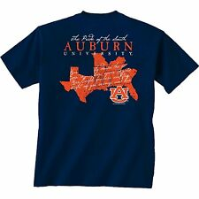 Auburn Tigers Unisex T-shirt - Pride Of The South - Color Navy Blue