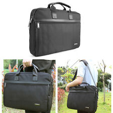 "17.3"" Notebook Laptop Briefcase Tote Sleeve Multiple Case Messenger Carrying Bag"