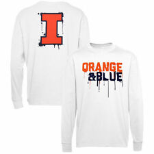Illinois Fighting Illini Youth White Colors Long Sleeve T-Shirt