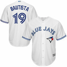 Majestic Jose Bautista Toronto Blue Jays White Cool Base Player Jersey