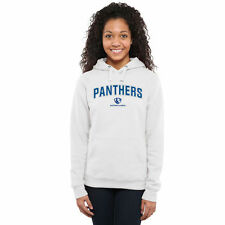 Eastern Illinois Panthers Women's White Proud Mascot Pullover Hoodie