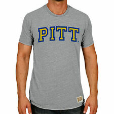 Original Retro Brand Pitt Panthers Heather Gray Vintage Pitt Tri-Blend T-Shirt