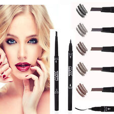Waterproof Eye Brow+Eyeliner Liquid Eye Liner Eyebrow Pen Pencil Makeup Cosmetic