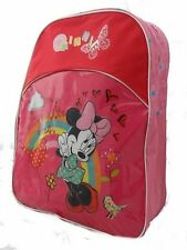 Disney Minnie Mouse Large Pink Girls Backpack
